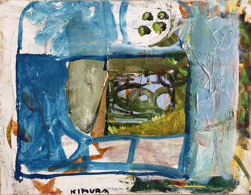 Chuta KIMURA - Peinture - Clos Saint-Pierre