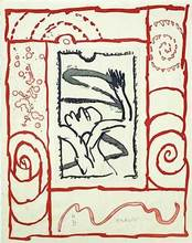 皮埃尔·阿列钦斯基 - 版画 - Composition