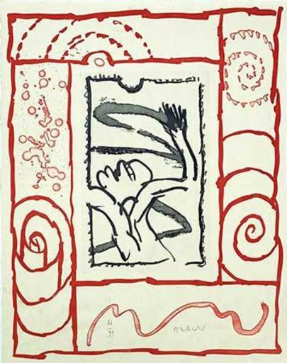 Pierre ALECHINSKY - Print-Multiple - Composition