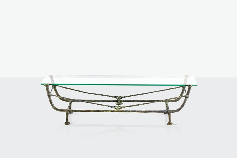 Diego GIACOMETTI - Sculpture-Volume - Table berceau, première version