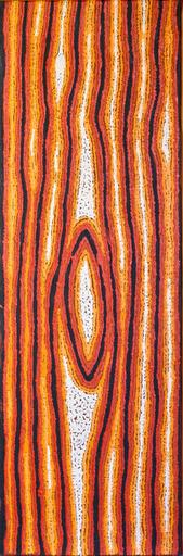 Eileen NAPALTJARRI - Peinture - Sans titre - peinture aborigène