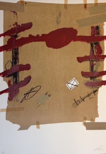 Antoni TAPIES - Print-Multiple - Semanas Catalas en Berlin