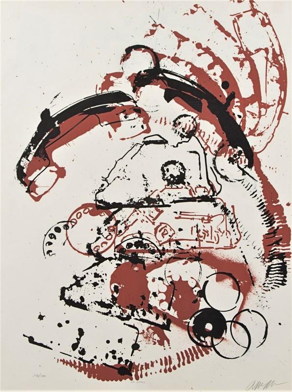 Fernandez ARMAN - Print-Multiple - Le téléphone