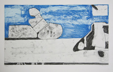 Richard DIEBENKORN - Print-Multiple - Blue
