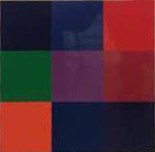 Gerhard RICHTER (1932) - Ohne Titel 3 x 3 Farben