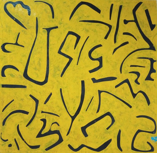 Harry BARTLETT FENNEY - Pittura - yellow jug subconscious ( 2005 )