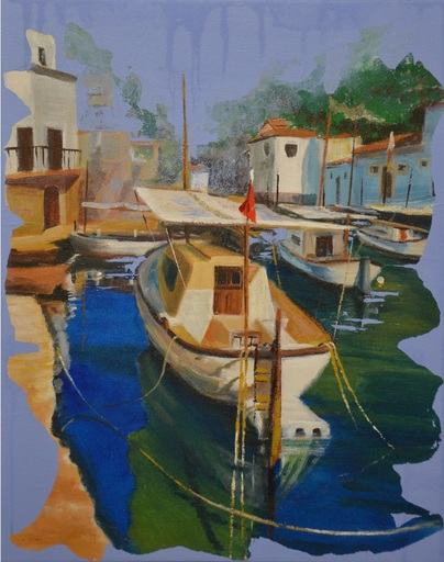 Diana KIROVA - Painting - Cala Figuera, Maiorca