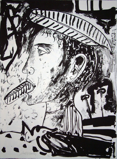 John BELLANY - Druckgrafik-Multiple - The Call of the Sea 9 - Feather Mouth