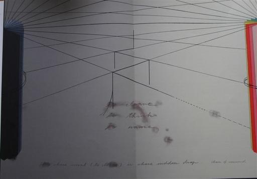 Shusaku ARAKAWA - Druckgrafik-Multiple - TO CLEAVE TO THINK TO NAME