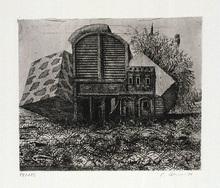 Peter ACKERMANN - Print-Multiple - Gartenhaus