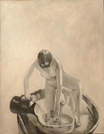 Catherine LOPES-CURVAL - Gemälde - Marthe Bonnard
