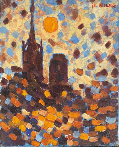 Jean-Pierre DUBORD - Painting - Effets de soleil