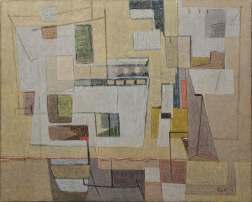 Geer VELDE VAN - Gemälde - composition