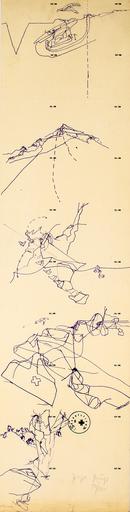 Joseph BEUYS - Grabado - Flug des Adlers ins Tal und zurück