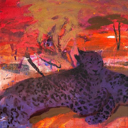 Katia TROTSENKO - Pintura - Big cats