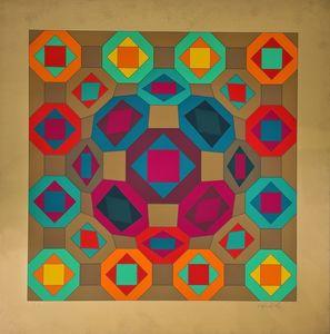 Victor VASARELY - Print-Multiple - Okta-Or
