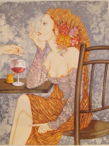 Sophie BUSSON - Print-Multiple - Esméralda,1986.
