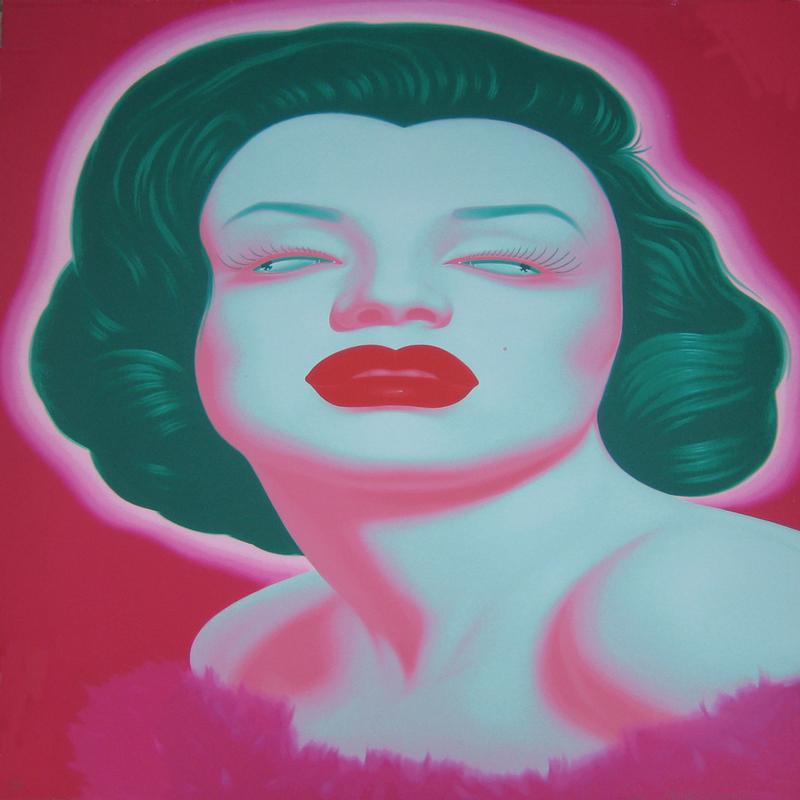 FENG Zhengjie - Estampe-Multiple - Chinese portrait 4
