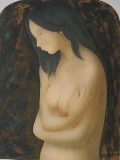 Alain BONNEFOIT - Estampe-Multiple - La Gitane,1987.