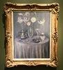 Henri LE SIDANER - Painting - La Table, Harmonie grise