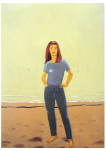 Alex KATZ, untitled