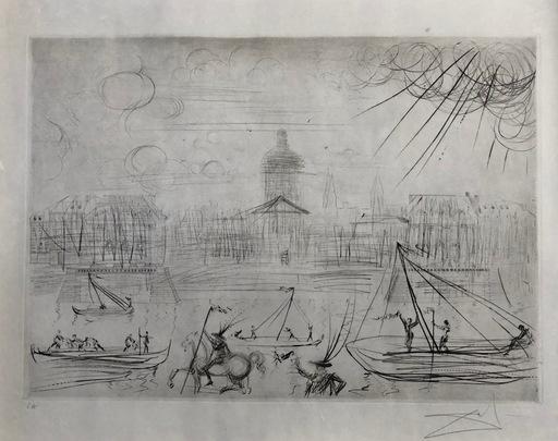 萨尔瓦多·达利 - 版画 - L`Academie des beaux Arts