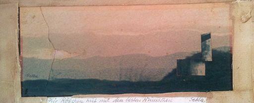 Shalom Siegfried SEBBA - Drawing-Watercolor - Landscape