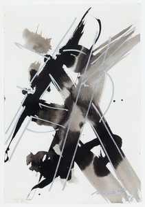 DI SUVERO Mark - Zeichnung Aquarell - Untitled (drawing)