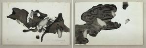 Shozo SHIMAMOTO - Pittura - Esquisse Hole 11