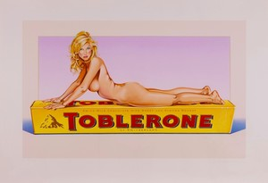 Mel RAMOS - Druckgrafik-Multiple - Toblerone Tess