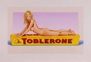 Mel RAMOS - Estampe-Multiple - Toblerone Tess