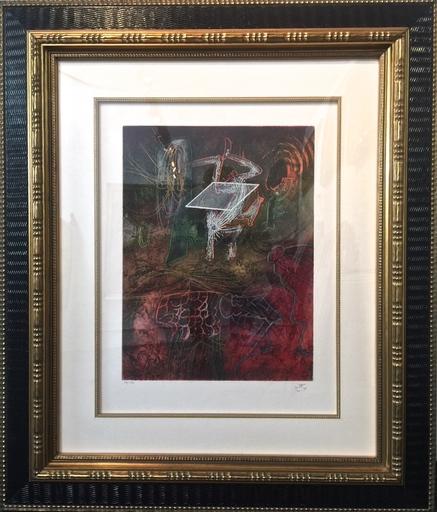 Roberto MATTA - Print-Multiple - Seasons from hell, Damne par l'arc en-ciel