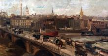 Eugenio SCORZELLI - Painting - London Bridge