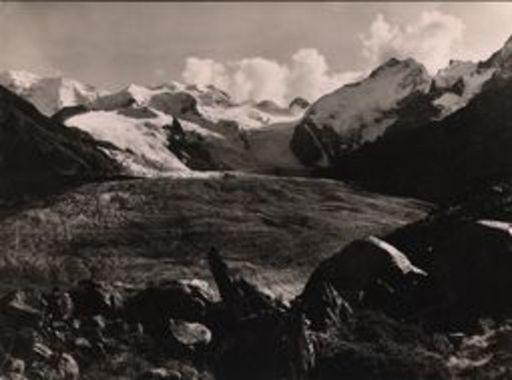 Albert STEINER - Fotografie - Abend am Morteratschgletscher