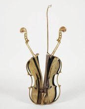 Fernandez ARMAN - Sculpture-Volume - Violon de Venise