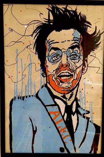 Alec MONOPOLY - Painting - You Don't Know Jack Painting