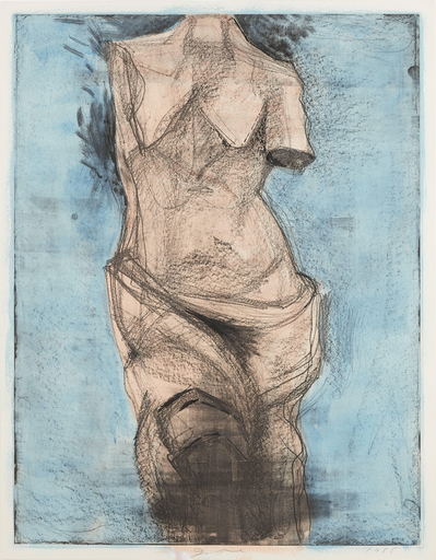 Jim DINE - Stampa-Multiplo - Venus at Sea