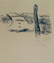 Marc CHAGALL (1887-1985) - Les ponts de la Seine