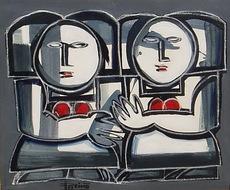 Antonio GARCÍA PATIÑO - Pintura - Mujeres