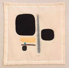 Bruno MUNARI - Estampe-Multiple - Giallo blu, bruno a nord ovest
