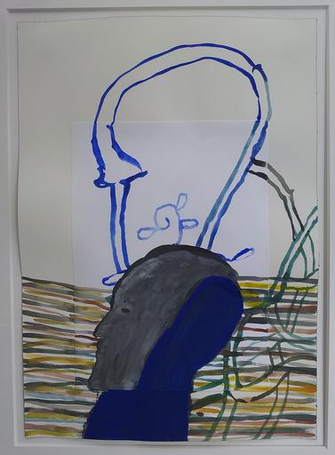 Mimmo PALADINO - Gemälde - TESTA