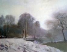 Alise MEDINA - Pintura - Spring fog