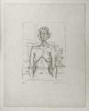 Alberto GIACOMETTI - Print-Multiple - Nu aux fleurs
