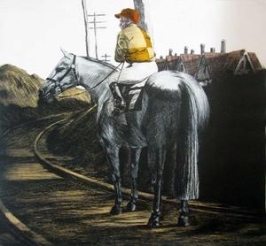 Fernando BELLVER - Print-Multiple - Crónica de una carrera. Hopper