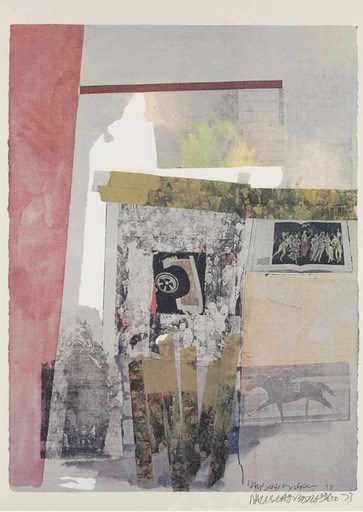Robert RAUSCHENBERG - Stampa-Multiplo - Watermark