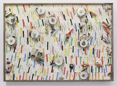 Pascale Marthine TAYOU - Pintura - Fresque de craies C (3)