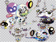 Takashi MURAKAMI - Estampe-Multiple - Another Dimension Brushing Against Your Hand