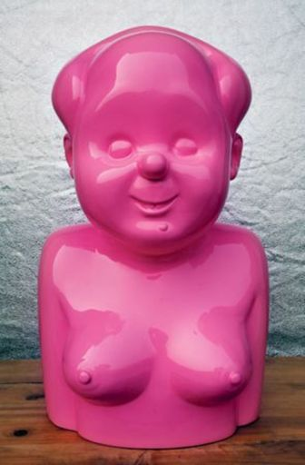 GAO BROTHERS - Sculpture-Volume - Miss Mao No.1