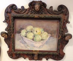 Robert Rafaelovich FALK - Painting - Still Life with Apples