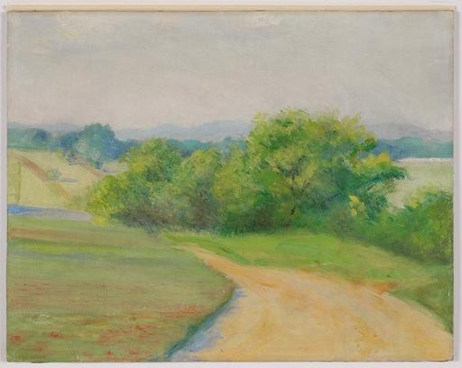 """Josef KALOUS - Painting - """"Summer Landscape"""", Oil Painting"""